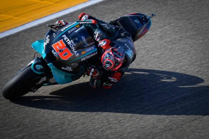 Fabio Quartararo MotoGP Motorland Aragón Petronas Yamaha