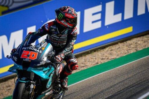 Fabio Quartararo MotoGP 2020 Aragón Petronas Yamaha
