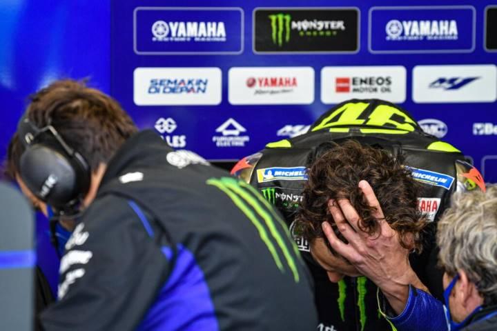 Rossi se pierde el GP de Europa