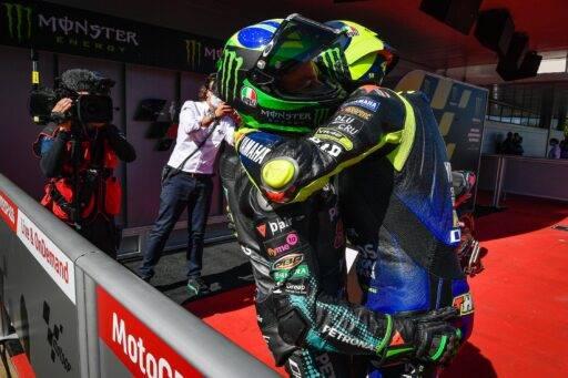 """Morbidelli: """"Tener a Rossi como compañero de equipo es maravilloso"""""""