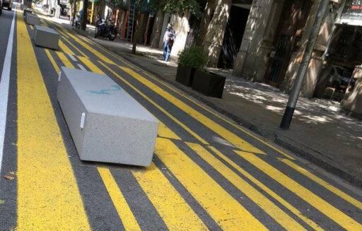 Foto de un bloque de hormigón en Barcelona