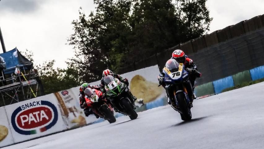 Loris Baz Ten Kate Yamaha WorldSBK MotoGP