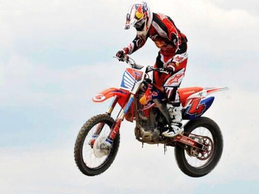 Andrea Dovizioso y el Motocross