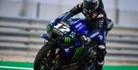 Maverick Viñales MotoGP Monster Energy Yamaha Qatar Test