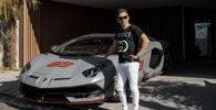 Lorenzo estalla tras una broma con su Lamborghini