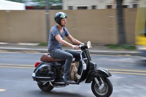 Casco Moto Cuello Seguridad Vial