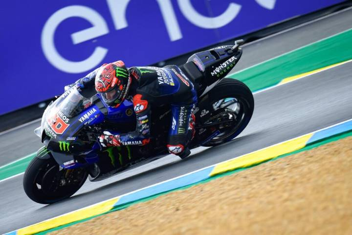 Fabio Quartararo Yamaha MotoGP Le Mans GP Francia