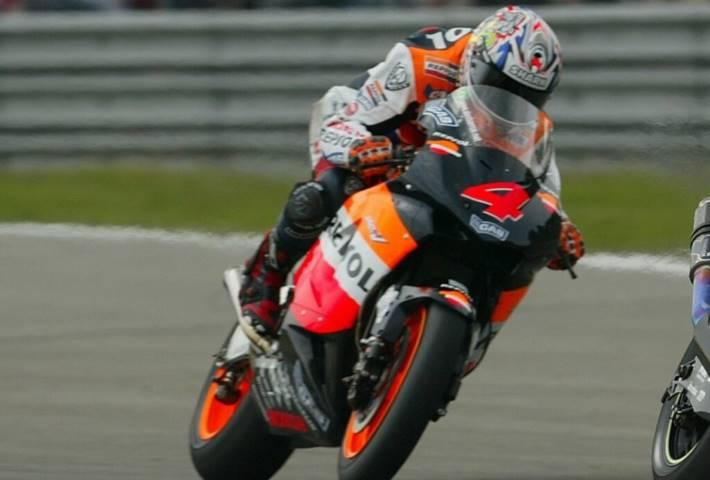 Alex Barros Honda MotoGP