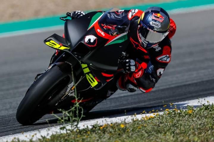 Andrea Dovizioso Aprilia MotoGP Livio Suppo