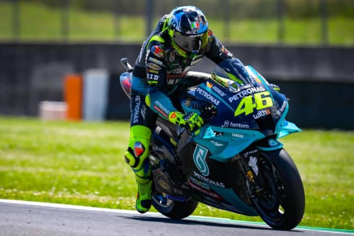 Valentino Rossi MotoGP Alex Briggs Petronas Yamaha