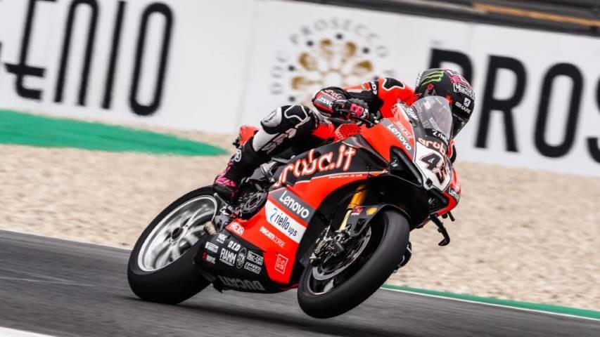 Scott Redding WorldSBK Ducati Aruba Racing
