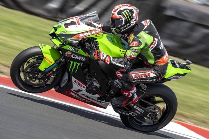 Jonathan Rea Kawasaki Racing Team WorldSBK Mundial de Superbikes