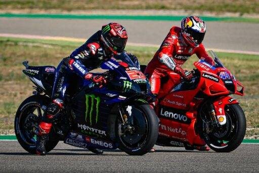 Noyes, Fabio Quartararo, Yamaha, Jack Miller, Ducati, MotoGP