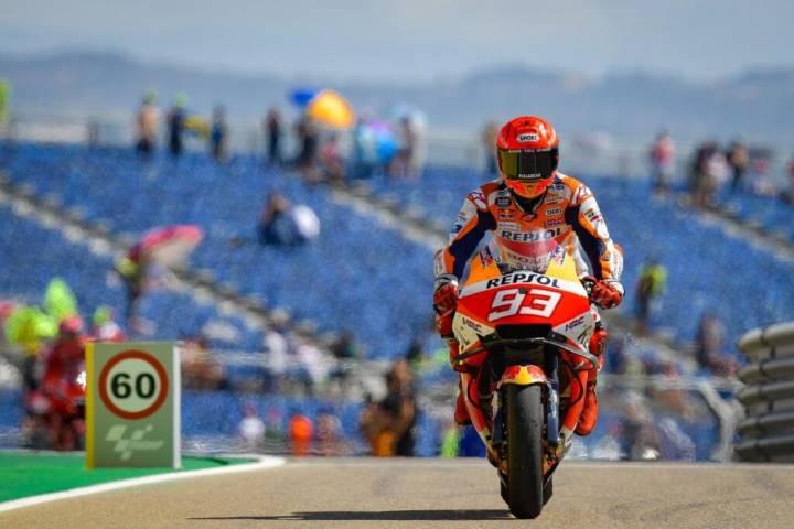 Marc Márquez Repsol Honda MotoGP MotorLand Aragón