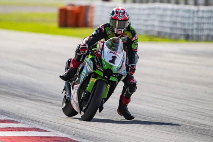 Jonathan Rea Kawasaki WorldSBK Jerez