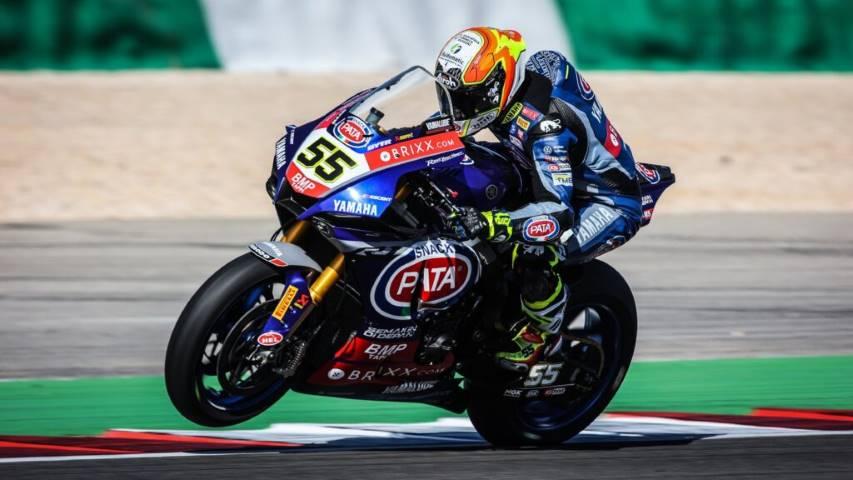 Andrea Locatelli Yamaha WorldSBK